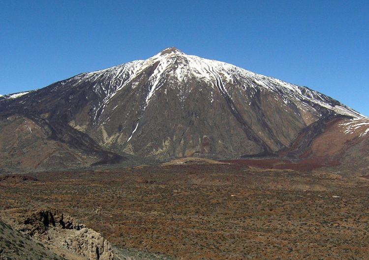 Sníh na Teide